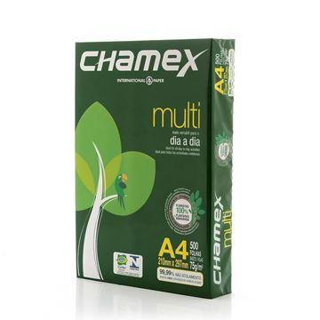 Imagem de PAPEL A4 210X297 75G/M 500F BRANCO CHAMEX MULTI RS