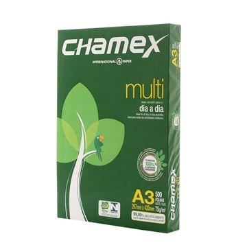 Imagem de PAPEL A3 297X420 75G/M 500F BRANCO CHAMEX RS