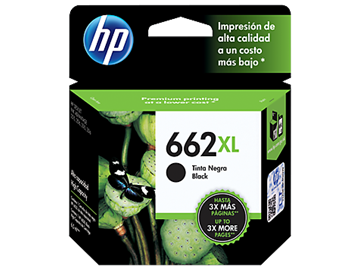 Imagem de CARTUCHO HP CZ105AB DESKJET (662 XL) 6,5 ML PRETO
