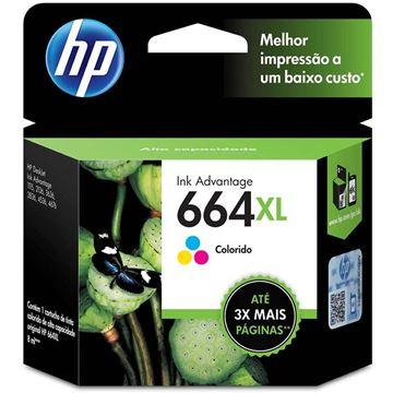 Imagem de CARTUCHO HP F6V30AB DESKJET (664 XL ) 8 ML COLORIDO