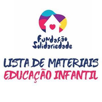 Imagem de KIT MATERIAIS ESCOLARES - EDUCAÇÃO INFANTIL