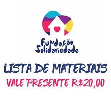 Imagem de KIT MATERIAIS ESCOLARES - VALE PRESENTE R$20,00